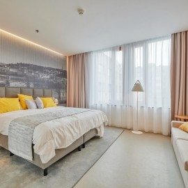 Hotel Mamaison Prague 2 – Sample rooms