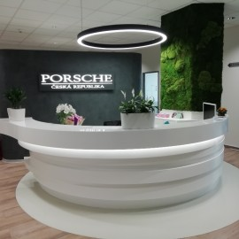 Fitout for PORSCHE Czech Republic